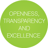 Openness, Transparency and Excellence