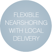 Flexible Nearshoring with Local Delivery