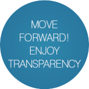 Move forward, enjoy transparency