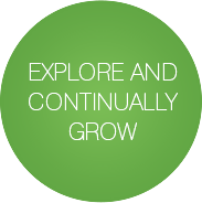 Explore and continually grow