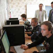 Infopulse Ukraine has presented university with a computer classroom