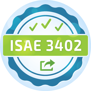 International Standard on Assurance Engagements (ISAE) 3402 Type I