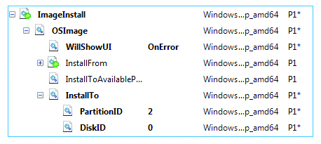 Automated OS installation as illustrated by Windows Embedded x64 - Infopulse - 902328