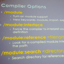 C++ module support in Visual Studio 2015 Update 1 - Infopulse - 625544