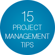 15 project management tips