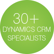 30 MS Dynamics CRM specialists