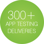 300+ application testing deliveries - Infopulse