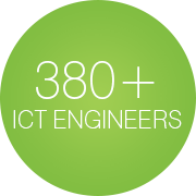 380+ ICT Engineers