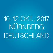 10. - 12. Oktober, 2017 in Nürnberg, Deutschland