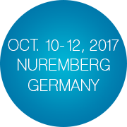 October 10-12, 2017 in Nuremberg, Germany