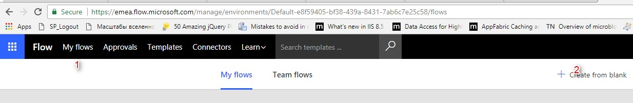 Using Microsoft Graph API inside Microsoft Flow in Office 365 - Infopulse - 862572