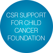 csr-support-child-cancer-foundation-slogan-bubbles