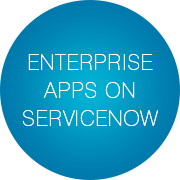 enterprise-apps-on-servicenow-slogan-bubbles-infopulse