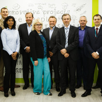 EVRY CEO visit to Infopulse