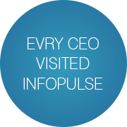 EVRY CEO visited Infopulse