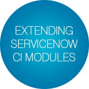 Extending ServiceNow CI modules