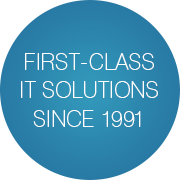 First-class IT solutions since 1991