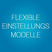 Flexible Einstellungsmodelle