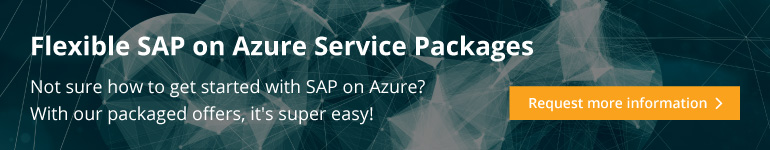 Request information about Infopulse SAP on Azure service packages