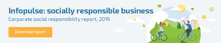 Infopulse Publishes 2019 Sustainability Report   -1