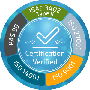 Infopulse confirms ISO, PAS, and ISAE certification