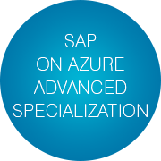 infopulse-received-sap-on-azure-advanced-specialization-slogan-bubbles