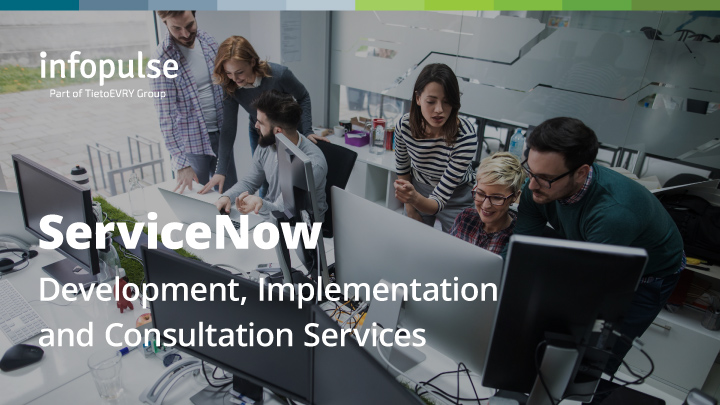 PDF cover of ServiceNow Services & Consulting
