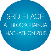 3rd Place at BlockchainUA Hackathon 2018 - Infopulse
