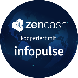 infopulse-zencash-partnerschaft-round