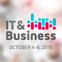 IT & Business 2016 in Stuttgart, Germany