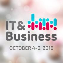 IT & Business 2016 in Stuttgart, Germany