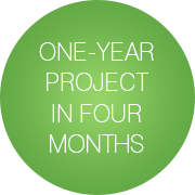 One-Year Project in Four Months
