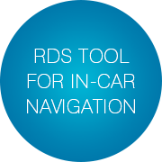 RDS tool for in-car navigation - Infopulse