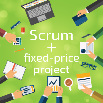 Scrum with a fixed-price project