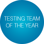 Testing Team of the Year
