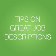 Tipps für die besten Stellenbeschreibungen