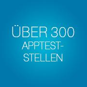 ueber 300 appteststellen - Infopulse