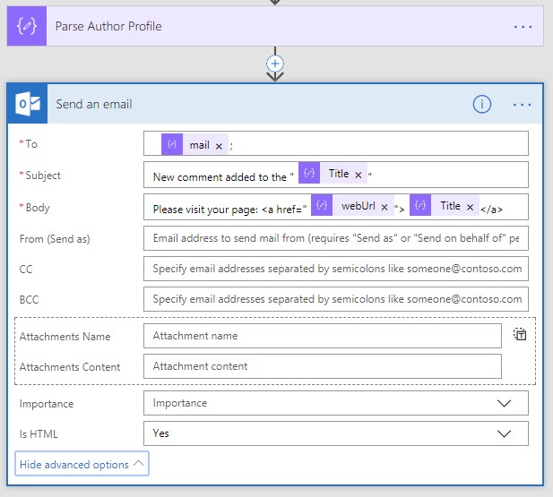 Using Microsoft Graph API inside Microsoft Flow in Office 365 - Infopulse - 028749